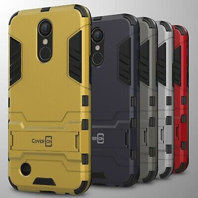 For LG K20 Plus / K20 V / K20V Case Hard Kickstand Protective Slim Phone Cover