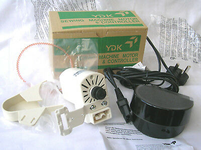 Heavy Duty Ydk Sewing Machine Motor & Foot Control Pedal 120 Watts, 7000 Rpm