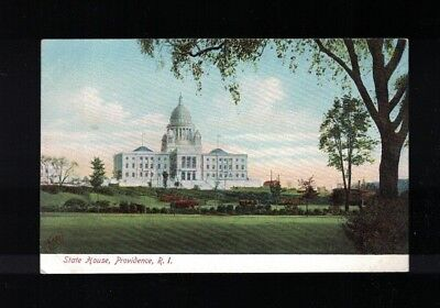 State House Providence Rhode Island C 1907 Post Card