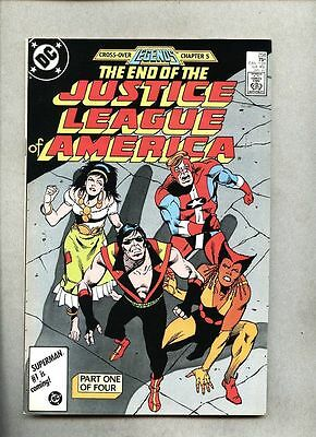 Justice League Of America #258-1987 vf- Legends / Death of Vibe