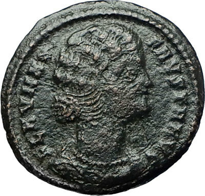 FAUSTA - CONSTANTINE I the GREAT Wife 325AD Authentic Ancient Roman Coin i68194