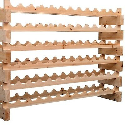 Wine Racks Commercial Design For Cellaring Vgc Solid Timber Stained Mahogany