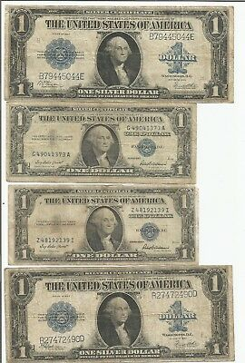 1923 Large $1 Silver Certificate Lot