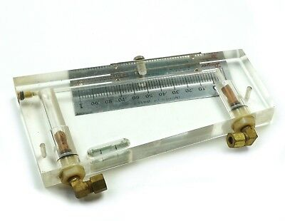 "Dwyer 250-AF Inclined Manometer Air Filter Gage .10-0-1.0"" w.c. 5-1/2"" Scale"