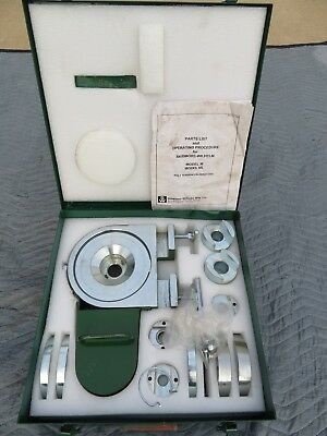 SKIDMORE-WILHELM Bolt Tension Calibrator model ML in Metal Case w/Extra's SUPERB