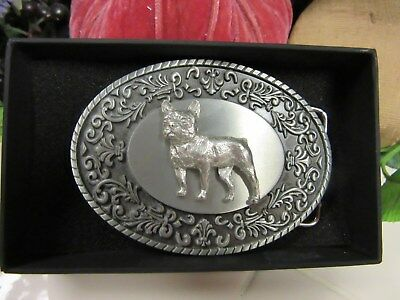 Very Handsome French Bulldog Belt Buckle-Number 2 Of 2-Man Or Woman