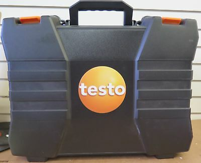 Testo 320 (0563 3220 71) Commercial Combustion Analyzer Kit 0632 3220 w/Printer