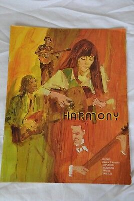 1971 harmony Guitar chicago namm show catalog vintage electric acoustic banjos