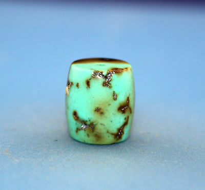 15*14 mm Antique Undressed dzi turquoise old Bead from Tibet **Free shipping*