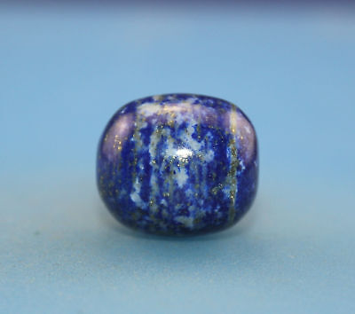 20*17 mm Antique dzi blue Lapis lazuli old Bead from Tibet **Free shipping**