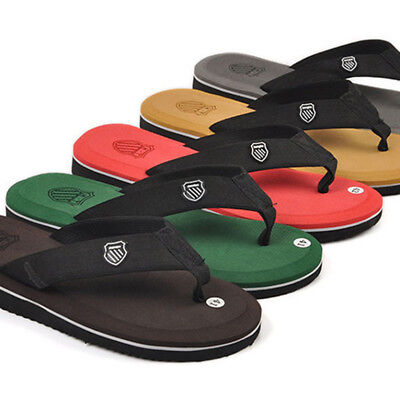 Fashion Men Flip Flops Beach Sandals Slippers Shoes Casual Thong 5Color Summer