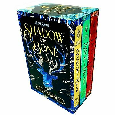 Grisha Series Collection By Leigh Bardugo 3 Books Set Shadow and Bone BRAND NEW