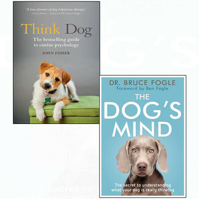 Think Dog:An Owner's Guide to Canine Psychology,Dog's Mind 2books collection set