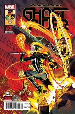 GHOST RIDER #3, New, First print, Marvel Comics (2017)