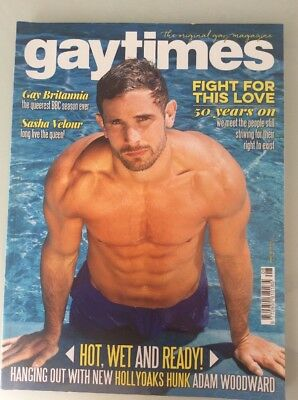 Gay Times August 2017