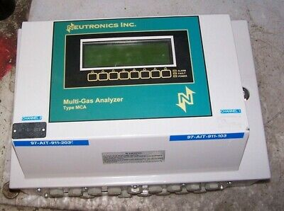 Neutronics Type Mca Multi-Gas Analyzer Supply 120 Vac