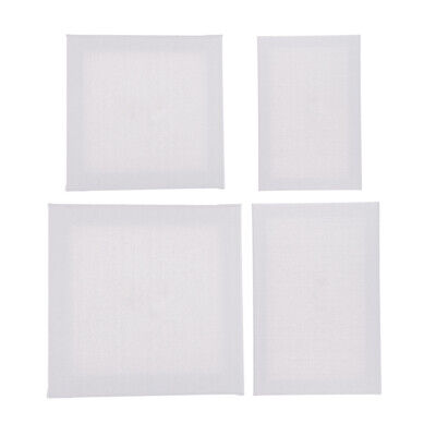 White Artist Blank Cotton Square Canvas Board for Art Oil Acrylic Painting