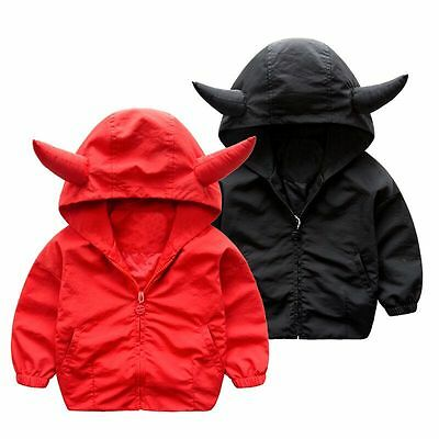 Toddler Baby Boys outerwear Hooded coats shark Jacket Kids Boys Clothes