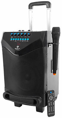 "Rockville 8"" Portable YouTube Bluetooth Karaoke Machine/System w/ Wireless Mic"