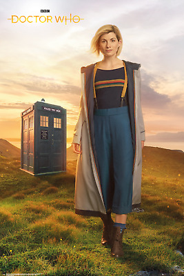 Doctor Who Season 8 London On Fire Maxi Poster 61x91.5cm FP3467