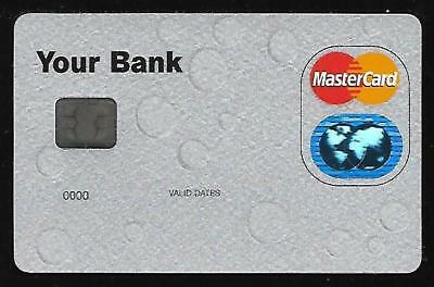 TEST CARD for MASTERCARD