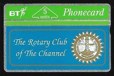 BTG066 ROTARY CLUB OF THE CHANNEL MINT BT PHONECARD ONLY 500 ex