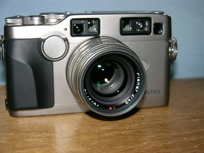 Contax G2 Camera with Carl Zeiss Planar 45mm f2 Lens T* MINT Unused Condition