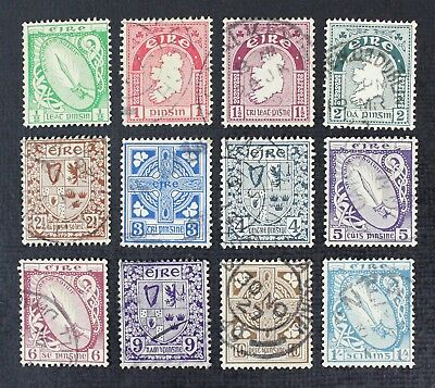 CKStamps: Ireland Stamps Collection Scott#65-76 (12) Used