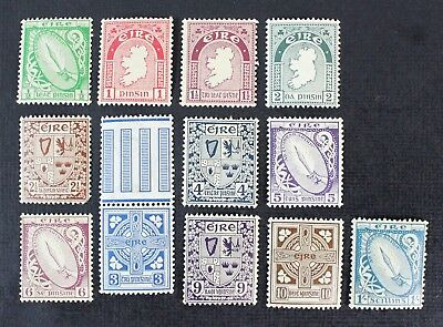 CKStamps: Ireland Stamps Collection Scott#65-76 (12) Mint NH/H OG