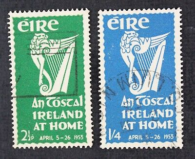CKStamps: Ireland Stamps Collection Scott#147 148 Used