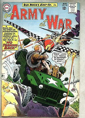 Our Army At War #140-1964 vg+/vg  Sgt. Rock Sgt Kubert