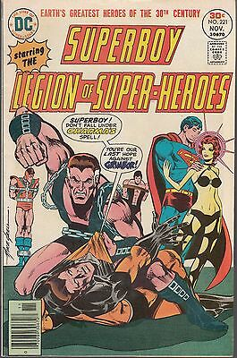Superboy  #221  1976  Dc  ''legion Of Super-Heroes  Fn- [Mike Grell]