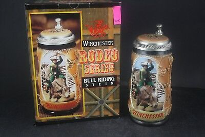 1997 Budweiser Winchester Rodeo Series Bull Riding Limited Stein /5000 (205)
