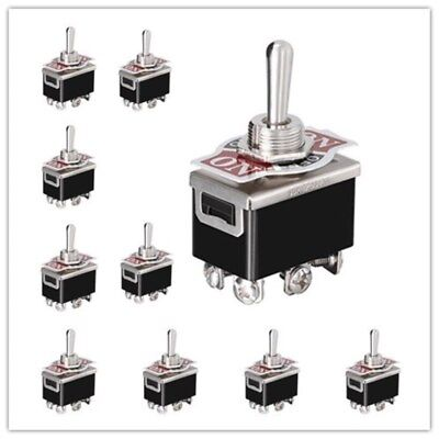Heavy Duty 15A 250V DPDT 6 Pin ON-OFF-ON Toggle Switch