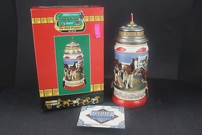 2000 Budweiser Champion Series The Hitch Prospect Limited Stein CS459 (214)