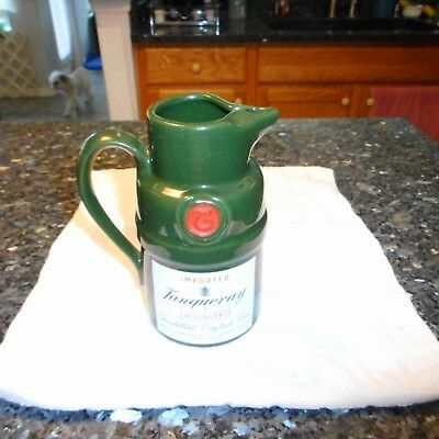 "Collectible ""Tanqueray"" Gin Pitcher"