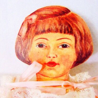 Ufdc Schoenhut Art Doll Tag Mary Frances Wright Vintage 1990 Joint Sign Large As