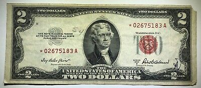 1953-A $2 Two Dollar United States Star Note
