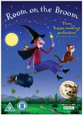 Room on the Broom - Sealed NEW DVD - Julia Donaldson