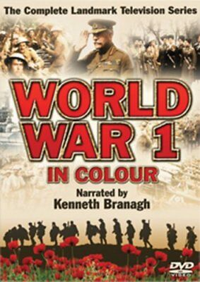 First World War In Colour - Sealed NEW DVD