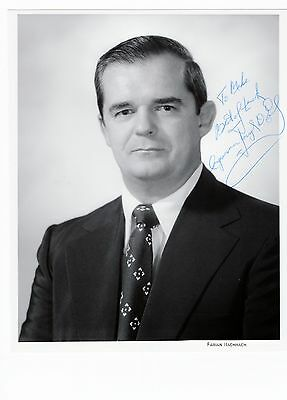 Joseph D. Early Massachusetts Congressman Hand Signed 8x10 Photo (SP) Autograph