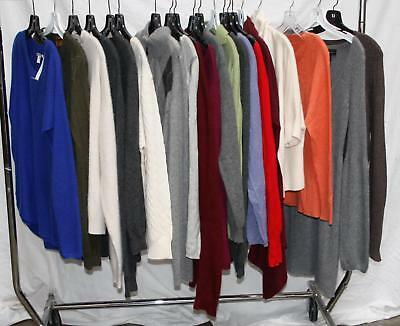 20 Sweater 100% Cashmere Fabric Crafts Upcycling Crafters Crafting Material Lot