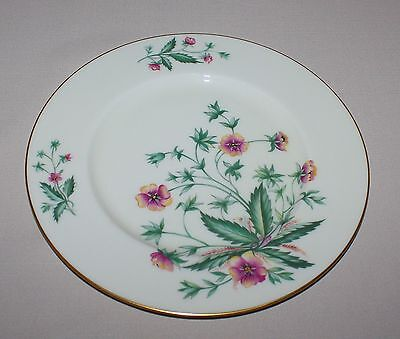 Lenox Country Garden Dinner Plate Pink Yellow Flowers Ivory Gold