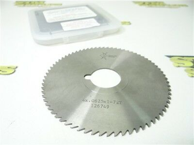 """New! Gaylee Solid Carbide Slitting Saw 4"""" X .0625"""" X 1"""""""