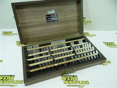 """Set Of Webber Precision Machinists Gage Blocks Partial .1001"""" To 3"""""""