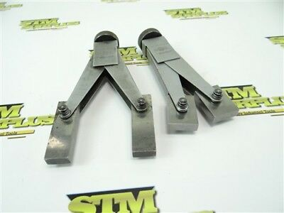 """Nice Pair Of Doall Gage Block Accessory Clamps 1""""-6"""" Capacity"""
