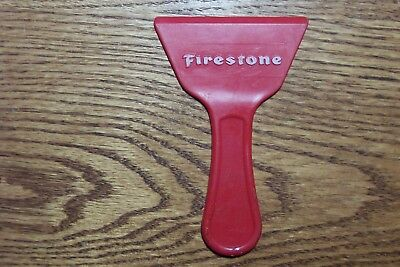 Vintage Firestone Tires Ice Window Scraper