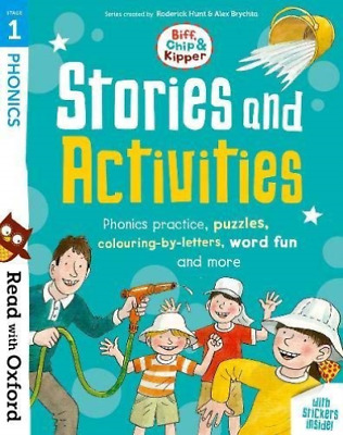 Roderick Hunt-Read With Oxford: Stage 1: Biff, Chip And Kipper: Stories BOOK NEW