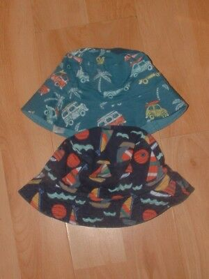 Bnw0T  M&s X 2 Fishermans Hats    Age  3-6 Years