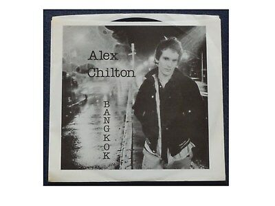 "Alex Chilton ""Bangkok/Can't Seem To Make You Mine"" Fun 1250 US 1978 1st Pr.PicSl"